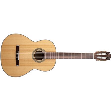 Fender Cn 140s Solid Top Classical Acoustic Guitar Rosewood Fingerboard Natura 0960327021