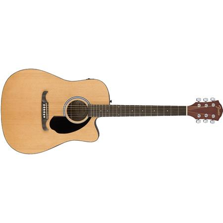 fender alternative fa 125ce dreadnought semi acoustic guitar natural 0971113021. Black Bedroom Furniture Sets. Home Design Ideas