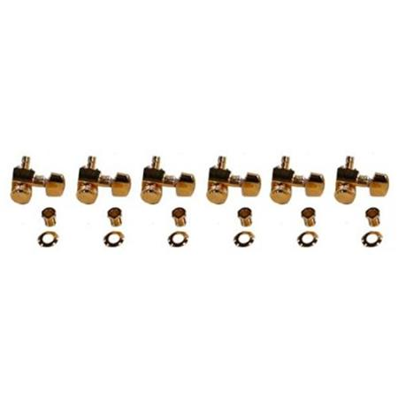 Fender Locking Tuners >> Fender Locking Stratocaster Telecaster Guitar Tuning Machines Set Of 6 Gold