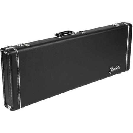 d150804d597 Fender Deluxe Strat/Tele Multi Fit Black Hardshell Case with Orange ...