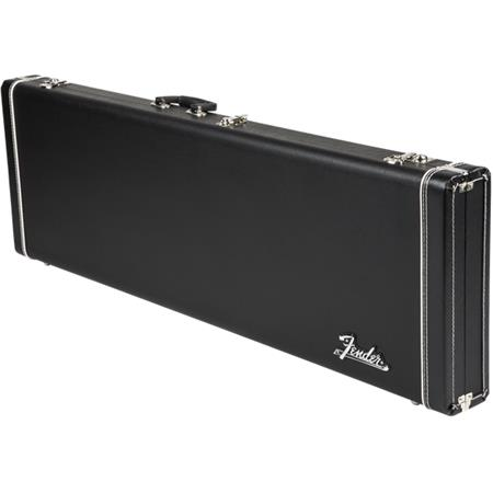 de3b0cde7c Fender Pro Series Precision Bass/Jazz Bass Case, Black with Black ...