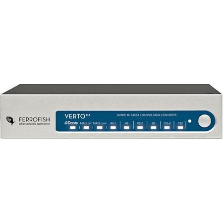 Ferrofish Verto MX 64-Channel MADI and Dante Format Converter