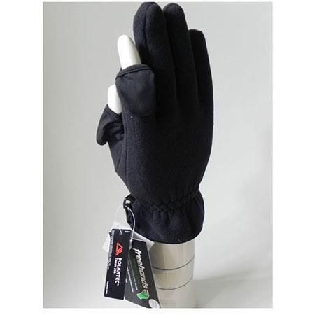 Freehands Mens Unlined Fleece Gloves
