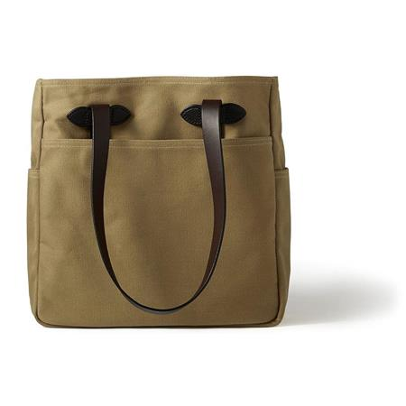 a79d3947248 Filson Rugged Twill Tote Bag without Zipper, One Size, Tan