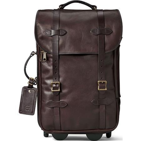 dcc42966c78 Filson Weatherproof Leather Rolling Carry On Bag Article bellaesa