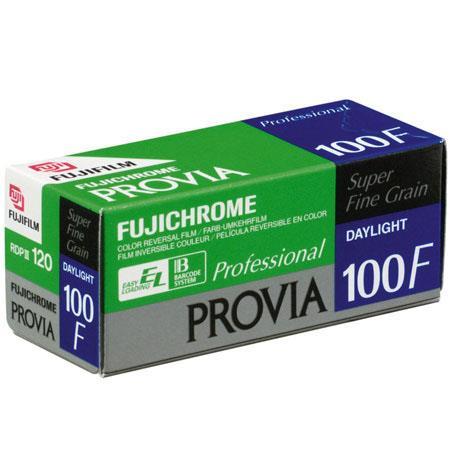 5 X Fuji Fujifilm Fujichrome Provia 100F RDPIII 120-5 Rolls Professional Pack