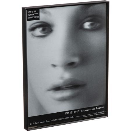 Framatic Fineline Aluminum Frame for 12x18 Photo, Black F1218B