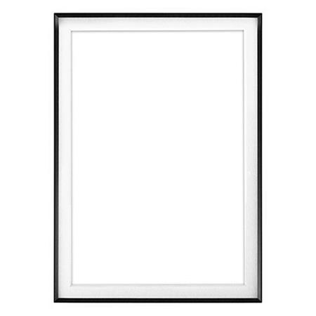 Framatic Fineline 16x20 Aluminum Frame Matted For 10x15