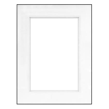 Framatic Fineline 18x24 Aluminum Frame Shadow Matted For 13x19