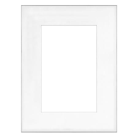 Framatic Fineline 18x24 Frame, Matted for 12x18in Photo F1824SX62