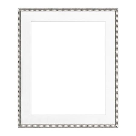 Framatic Antique Hardwood Frame 16x20 Matted Fa 11x14 Photograph