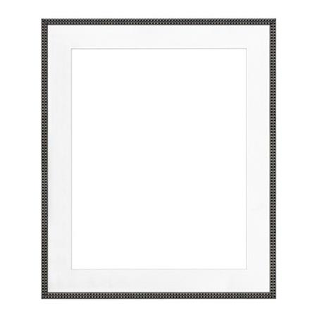 Framatic Antique Hardwood Frame 18x24 Matted For A 12x18