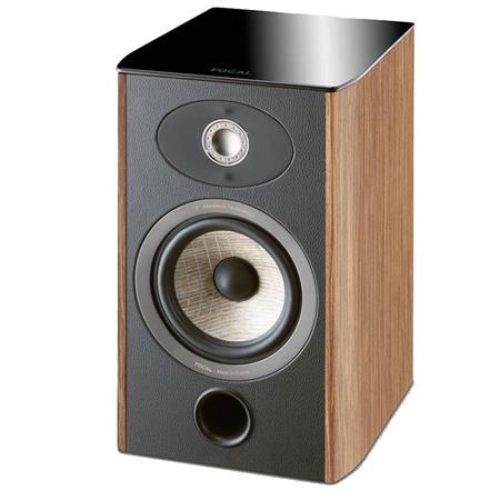 Focal Aria 906 2-Way Bass Reflex Bookshelf Speakers, Prime Walnut, Pair