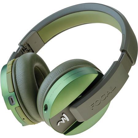 8649df1b21c Focal Listen Wireless Circumaural Closed-Back Headphones, Chic Green ...