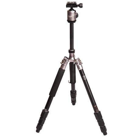 Fotopro Artpod Mini Classic Aluminum Tripod with Leather Bag