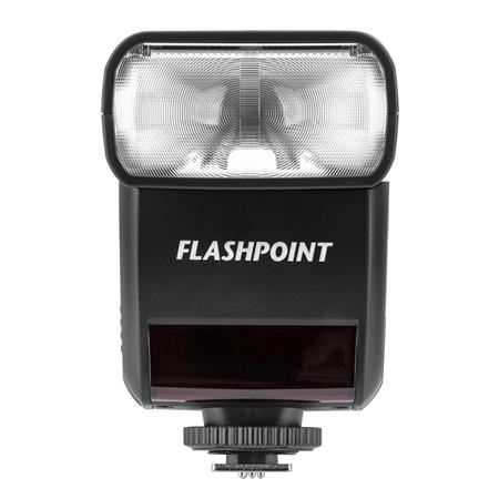 Flashpoint Zoom-Mini TTL R2 Flash With Integrated R2 Radio Transceiver -  Olympus and Panasonic Compact Cameras (TT350O)