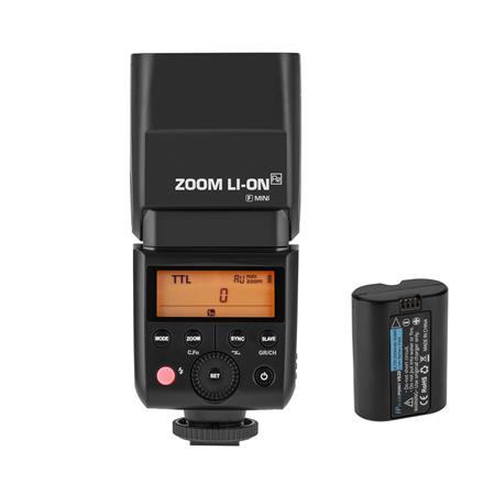 Flashpoint Zoom Li-ion Mini TTL R2 Flash With Integrated R2 Radio  Transceiver - Fujifilm (V350F)