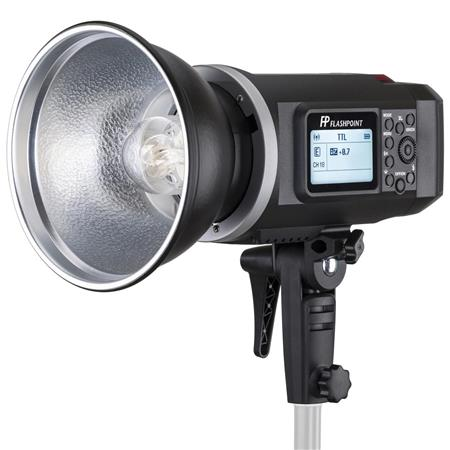 Flashpoint Battery-Powered Monolight Studio Flash + Flashpoint Transceiver