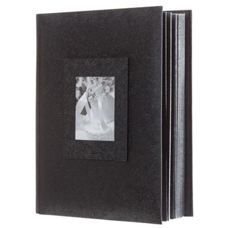 Adorama Proof Album Series Holds 300 4x6 Photos W4x6 Window Black