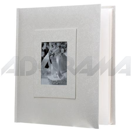 Adorama Proof Album Synthetic 100 5x7 Photos White Sa57100w