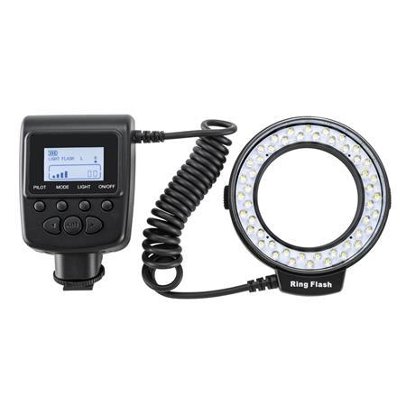 Flashpoint Vl 48 Led Macro Ring Light 49 67mm Lenses Fp550d
