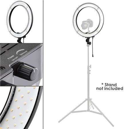 Flashpoint 13 Quot Dimmable Led 42w 5500k Ac Powered Light Ring
