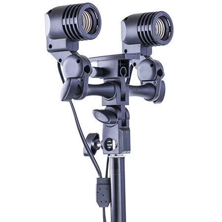 EU Version Adorama Flashpoint Socket Light Fixture for Light Stands with Umbrella Mount