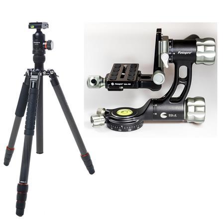 Fotopro X-Go Plus Tripod Kit Black