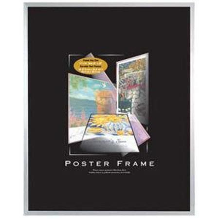 Mcs 18x24 Poster Frame With Clear Plexiglass Silver 23850 Adorama
