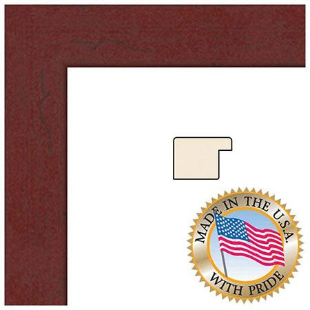 Art To Frames 3978 Wood Frame for 11x17 Photograph, Mahogany ...