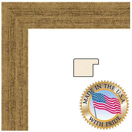 Art To Frames 3965 Wood Frame For 20x28 Photograph 1 25 Thick And 0 375 Deep Regular Plexi Gl Clic Gold