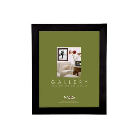 Mcs Urban Flat Wood 8 X 10 Frame Black 42544