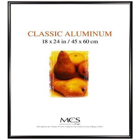 mcs classic aluminum 18x24 frame black