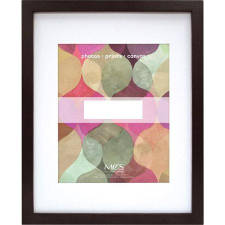 MCS Art Shadow Box Solid Wood Picture Frame 16x20 with 11x14 ...
