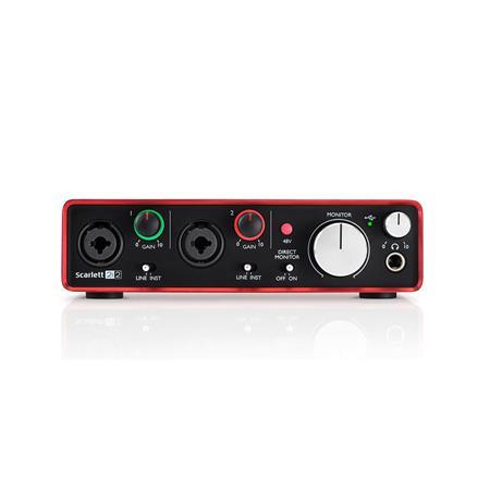 Focusrite Scarlett 2i2 USB Audio Interface (2nd Generation)