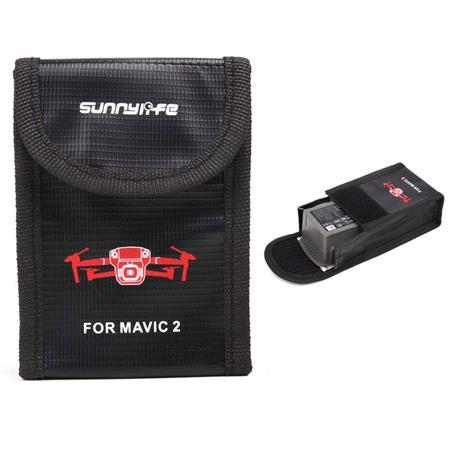Mavic 2 Pro Zoom Drone Accessories Fireproof LiPo Safe Battery Bag Storage