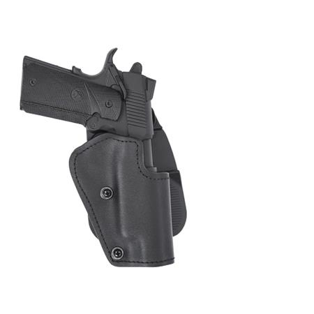 Front Line Kydex Suede Lined Right Hand Paddle Holster with Adjustment  Screws for Jerico & Baby Eagle Semi-Compact Steel Frame Pistols with Rails