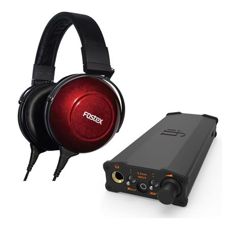 Fostex TH-900mk2 Wired Stereo Headphones Bundle
