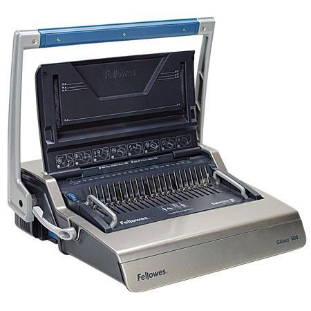 Fellowes Galaxy 500 Manual Comb Binding Machine, 25 Sheets Punching  Capacity, Galaxy 500 Binding Capacity, Gray