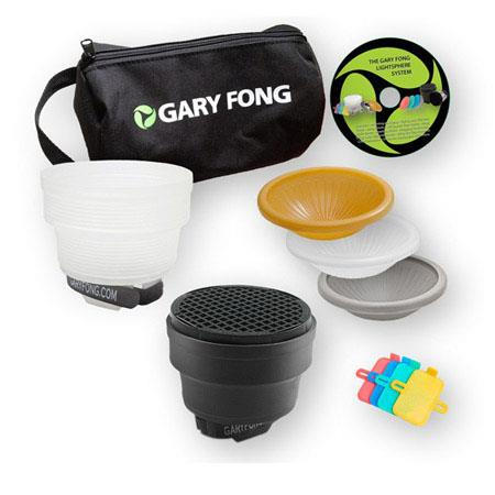 Gary Fong Dramatic Lighting Kit Includes 2X Speed Snoot Color Gel Filter Kit and Custom Gear Bag
