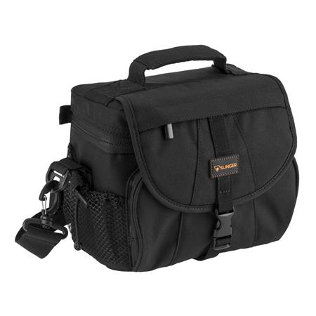 db00dd132944 Adorama Slinger Simple 1 DSLR Shoulder Bag (Black) SLBK - Adorama