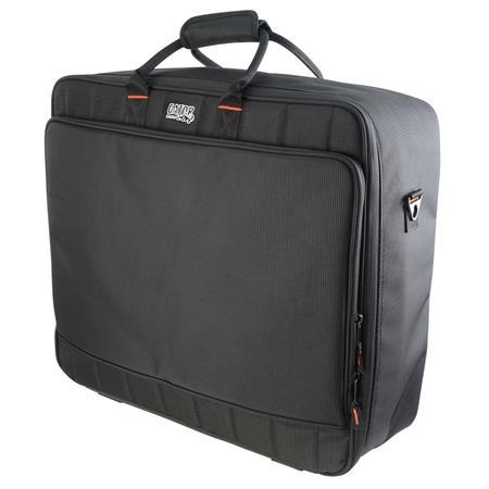 Gator Cases Updated Padded Nylon Mixer/Equipment Bag, 21x18 5x7