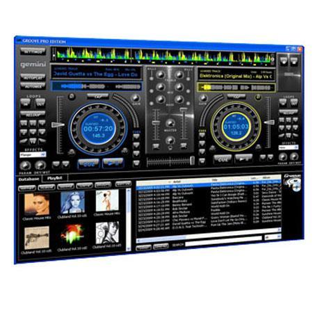 Gemini groove professional dj software