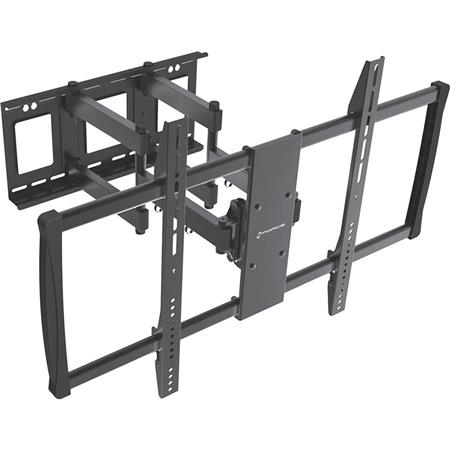 gforce full motion tilt and swivel tv wall mount for 60 100 led lcd tvs gf p1124 1100. Black Bedroom Furniture Sets. Home Design Ideas