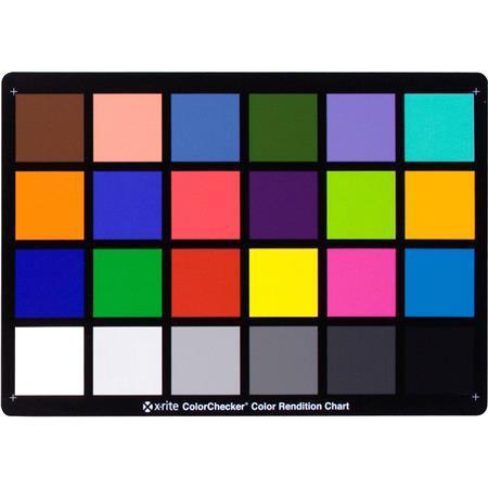 X Rite Colorchecker Chart 85in X 115in Msccc
