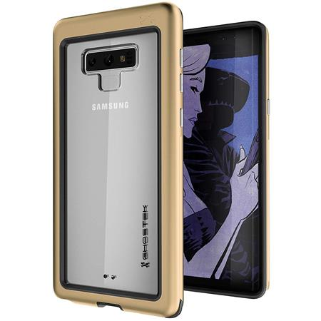 separation shoes d9bf4 57492 Ghostek Atomic Slim Military Grade Aluminum Case for Samsung Galaxy Note 9,  Gold