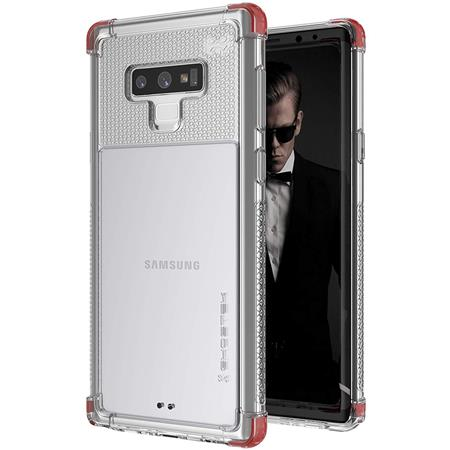 a515c6cd3 Ghostek Covert 2 Clear Silicone Case for Samsung Galaxy Note 9, Red ...