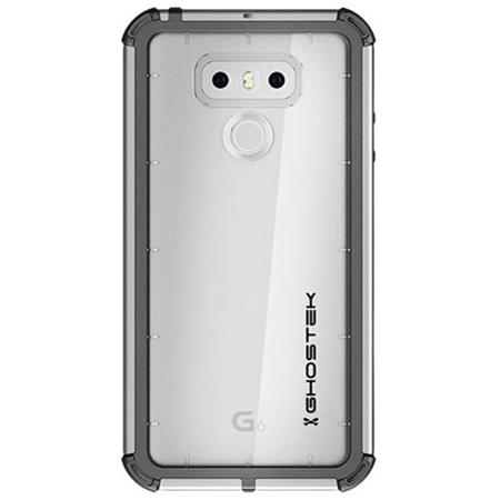 cheaper ebc5e 70af4 Ghostek Atomic 3 Series Waterproof Case with Touch Sensitive Screen Guard  for LG G6 Smartphone, Silver