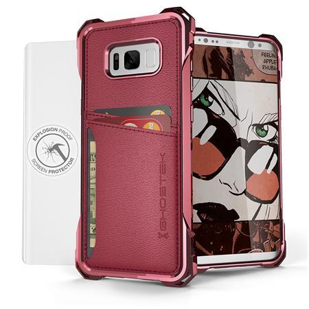promo code 0f2b1 efd94 Ghostek Cloak 2 Series Case for Samsung Galaxy S8 Plus, Red