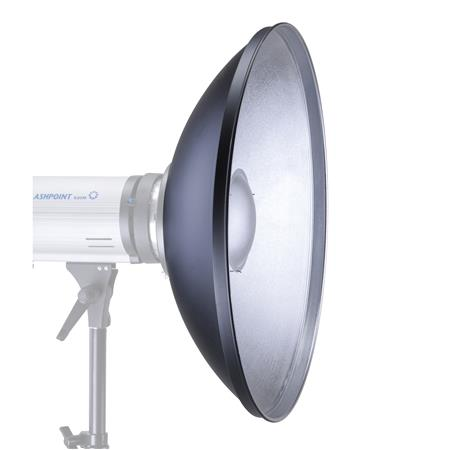 Glow 17 Silver Beauty Dish for Photogenic Mount